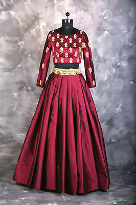 Latest Indian Fancy New Bollywood Designer Party Wear Embroidered Lehenga Choli