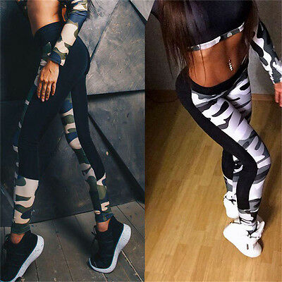 Women Sports Gym Yoga Running Fitness Leggings Pants Training Athletic Trousers