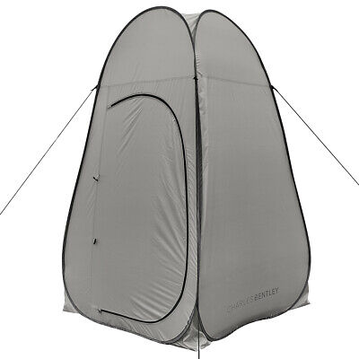 Charles Bentley Portable Pop Up Utility Tent Multipurpose Camping Toilet Shower