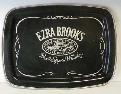 Vintage Ezra Brooks Whiskey Tray