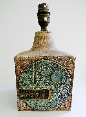 A Troika Pottery Lamp base signed