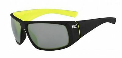 Genuine NIKE Wrapstar Replacement Sunglasses Lenses: P/Carb metalic Grey