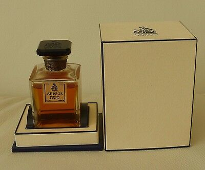 Vintage ARPEGE EXTRAIT DE LANVIN Sealed Perfume Bottle In Original Box