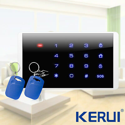 KERUI K16 Wireless RFID Touch Keyboard For Home Alarm Security System 433MHz