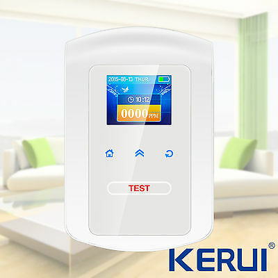 KERUI Home Kitchen Combustible Gas Leak Detector Sensor For Security System