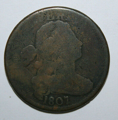 1807 Large Cent  Jk17