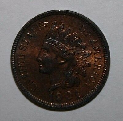 1901 BU RB Indian Head Cent XC11