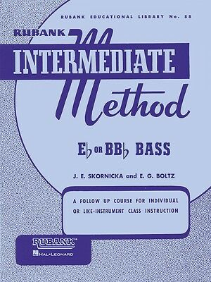 Rubank Advanced Method Vol 2 Bass Tuba B.C Advanced Band Method NEW 004470470