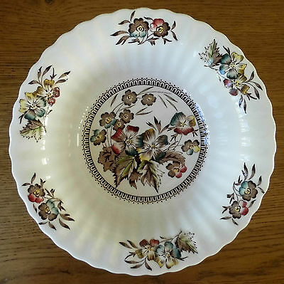 1940's WADE MEADOW LARGE VEGETABLE DISH BOWL