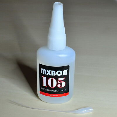 MXBON 105 Cyanoacrylate Glue, 50 grams