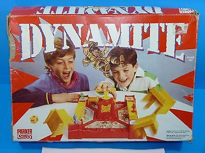 Vintage 1988 DYNAMITE Action Board Game by Parker 100% COMPLETE