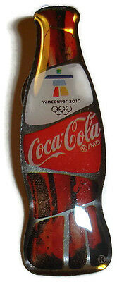 Coca-Cola Bottle Pin 2010 Olympic Winter Games Vancouver