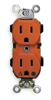 Leviton 5262-IG 15-Amp, 125 Volt, Industrial Series Heavy Duty Specification Gra