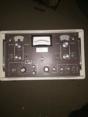 Selective Level Meter Philco model 128A Excellent Condition