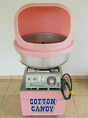 Gold Medal 3005SS Tornado Floss Cotton Candy Machine W/Bubble Cover & Cart