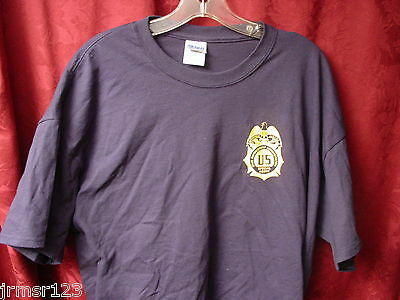 DEA  POLICE -SILK SCREENED-new.-PBA FOP  TEE SHIRT 2xl or -3x Large -  Navy Blue