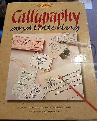 calligraphy and lettering set
