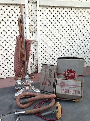 Vintage Kirby 513 Vacuum With Accessories & Attachments