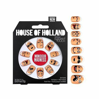 House of Holland faux ongles - Monsieur MADNESS (24 ongles)