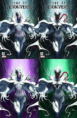 Edge Of Venomverse 1 Comicxposure Inhyuk Lee A B C& D Variant Virgin 4 Pack Set