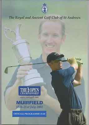 2002-131st OPEN CHAMPIONSHIP-ELS-SOUTH AFRICA @MUIRFIELD-OFFICIAL GOLF PROGRAMME
