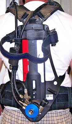 Drager AirBoss PSS 100 SERIES SCBA HARNESS CBRN APPROVED BREATHING APPARATUS