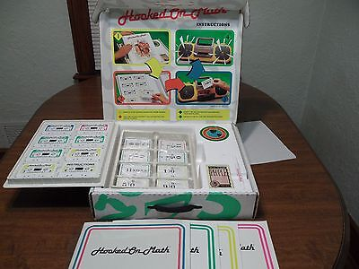 Vintage Hooked On Math Complete Set Mint CIB 1992 Preschool to Adult BRAND NEW