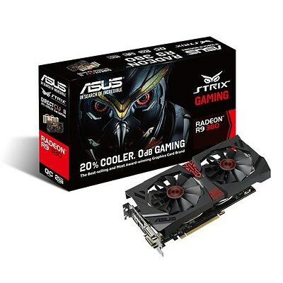 Carte graphique ASUS STRIX-R9380-DC2OC-2GD5-GAMING