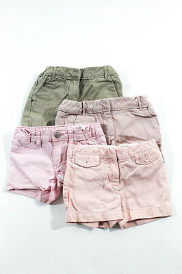 Crewcuts MultiColor Cotton Loose Fit Cuffed Chino Shorts Lot Size 5