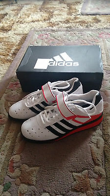 Adidas Power Perfect II Weightlifting Shoes UK7.5