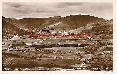 Postcard Scotland The Valley of the Shee and Glenshee 1588 RP AI176