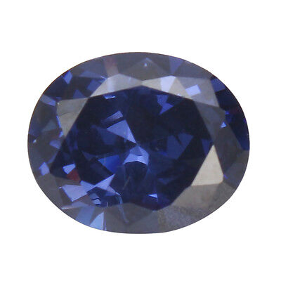 Unheated 4.52ct Ceylon Blue Sapphire 9x11mm Oval Shape VVS Gem Gifts