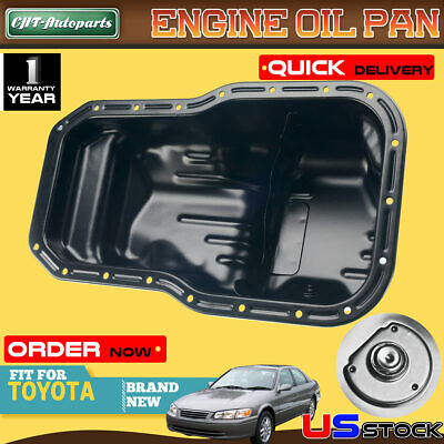 Engine Oil Pan Mtc For Toyota Camry 92 2001 Solara 1999 2001 L4 Fits