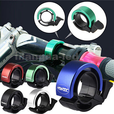 90db Bicycle Handlebar Invisible Bell Alarm Horn Ring for 22.2-24mm MTB Bike