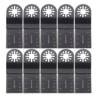10x 35MM WOOD SAW BLADES FOR FEIN MULTIMASTER BOSCH MAKITA OSCILLATING MULTITOOL