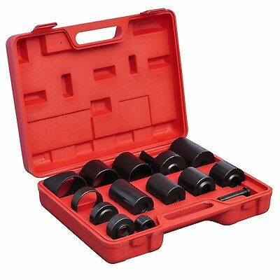 New 14pc Ball Joint Adapter Set Car Pneumatic Master Remover Service Tool Kit
