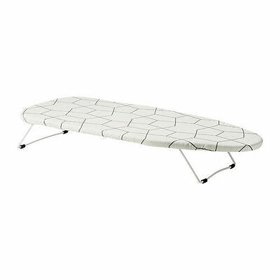 Ikea Mini Iron Ironing Board with Hook Portable Table Top Clothes Bench Top