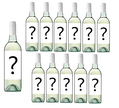 Only $54 Delivered Mystery Labeled Sav Blanc White Wine (12x750ml) RRP $179