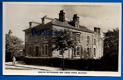 Rp Postcard Evelyn Devonshire Red Cross Home Buxton Derbyshire Peak District