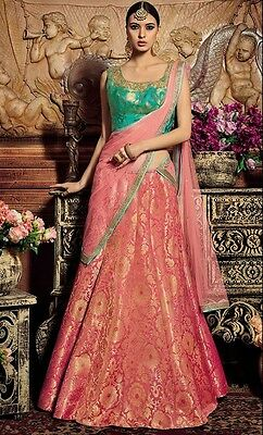 Latest Indian Designer Wedding Lehenga Choli Traditional Party Wear Dress