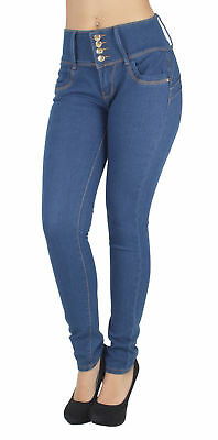 CG8-8G070(S) – Colombian Design, Butt Lift, Levanta Cola, Mid Waist Skinny Jeans