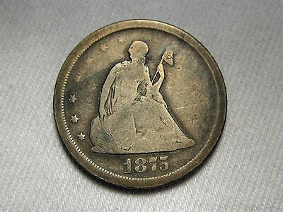 1875-S Twenty Cent Piece AC268