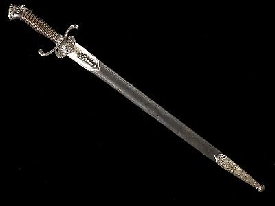Very Nice French Hunting Sword Dagger Early 19Th Century