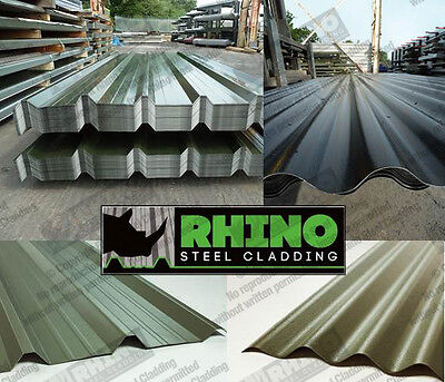Roofing Sheets for Hay Barns, Cattle Sheds & Stables Steel/Metal/Tin Cladding
