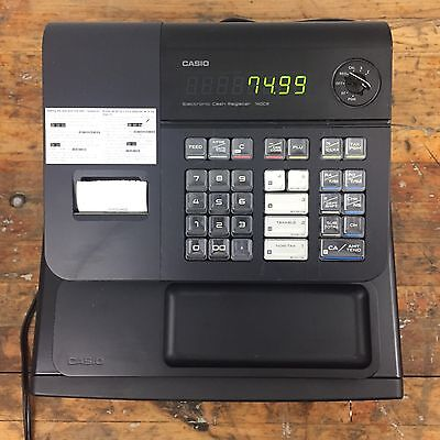 Casio 140CR Electronic Cash Register With Operator Key & Drawer Key See Details