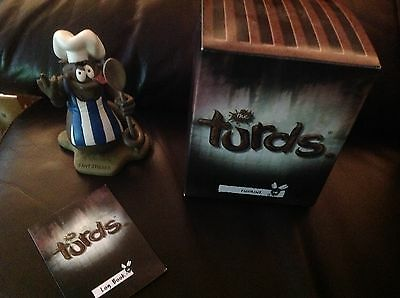 The Turds Figurines -  Sh*t Stirrer  With Box and Log Book