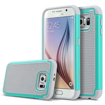 Slim Hybrid Rugged Rubber Hard Shockproof Phone Cover Case for Samsung Galaxy S6