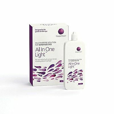 Coopervision All-in-One-Light Contact Lens Solution: 3 Month Supply (250ml x 3)