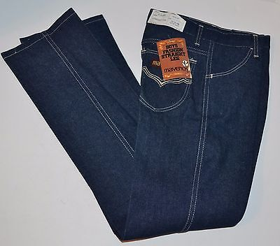 VINTAGE New Maverick (Blue Bell) Boys Fashion Straight Leg jeans 12 Slim