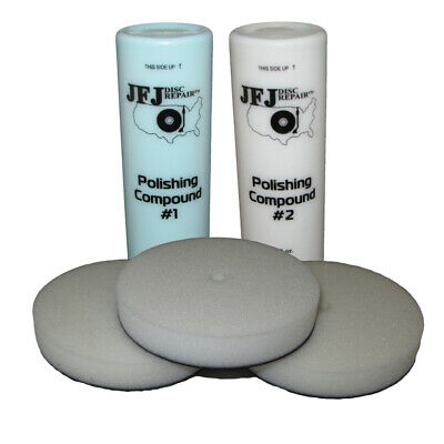 Jfj Easy Pro Supply Pack 1 - Solution & Buffing Pads
